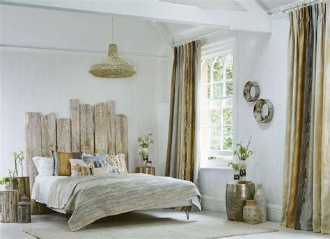 tete de lit bois flotte une decoration romantique qui