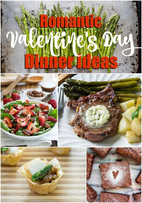 day dinner ideas romantic dinner ideas for valentine s day i wash you dry