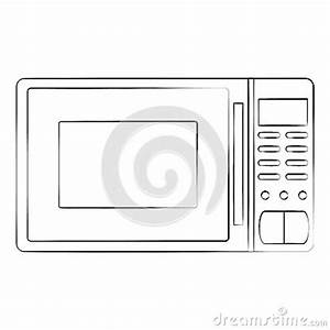 Microwave Stock Vector - Image: 51725374