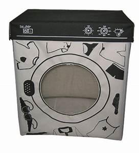 Panier A Linge Noir : panier linge machine laver cadeau maison fun super insolite ~ Teatrodelosmanantiales.com Idées de Décoration