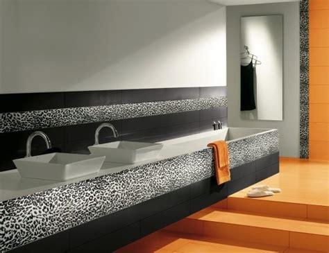 leopard bathroom tile modern bathroom new york by