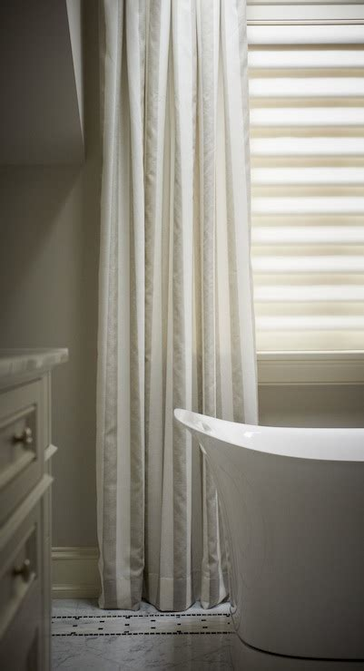 2 tone curtains 2 tone curtains transitional bathroom khachi design group