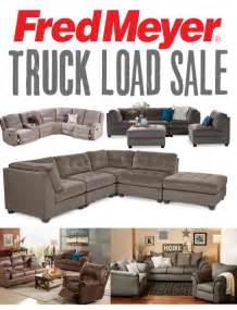 Fred Meyer Furniture Ad by Fred Meyer Save Big On Furniture At Truckload Furniture