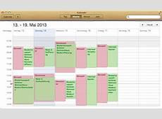 timr Zeitaufzeichnungen in Kalender anzeigen timr