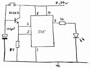 how the transistor works in this 555 circuit electrical With simple time delay circuit using the ne555 timer ic in monostable