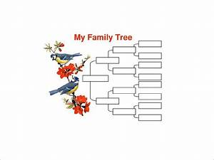 8  Four Generation Family Tree Template