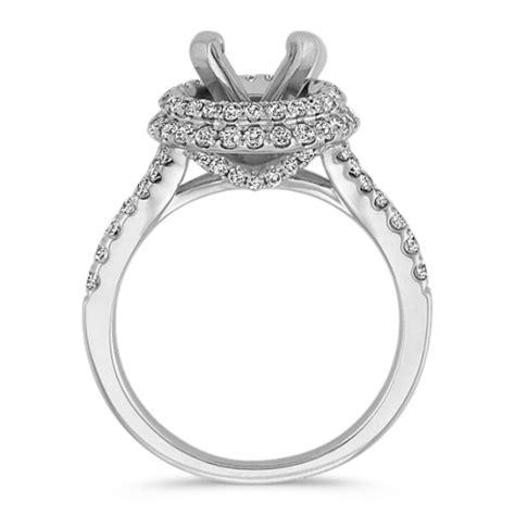 Two Tiered Halo Round Diamond Engagement Ring  Shane Co. Bulk Rings. Breathable Rings. Blue Green Wedding Wedding Rings. Singam Rings. Camellia Rings. $800 Engagement Rings. Multi Color Wedding Rings. Clemson University Rings