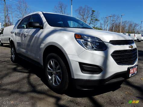 2017 Summit White Chevrolet Equinox Ls Awd #119753438