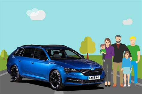Large Family Car of the Year | Parkers Car Awards 2020 ...