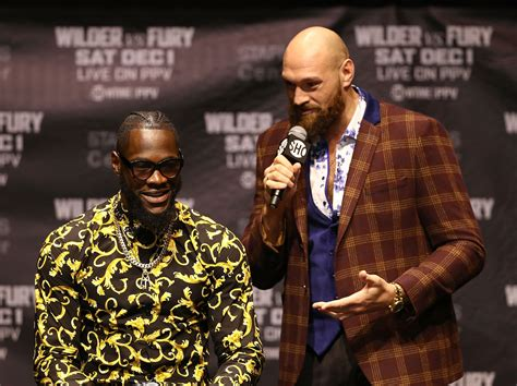The Deontay Wilder vs Tyson Fury pre-fight bluster is ...