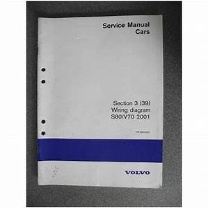 Volvo S80 V70 Wiring Diagram Manual 2001 Tp3950031 On Ebid