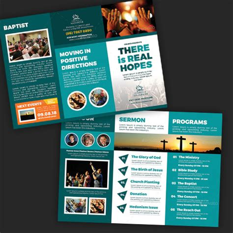 Church Brochures Templates by 18 Church Brochure Templates For Modern Churches