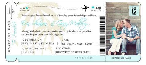 diy airline ticket invitation   etsy ticket