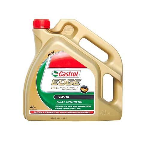castrol edge 5w30 castrol edge sae 5w30 fully synthetic engine 4l vw gm