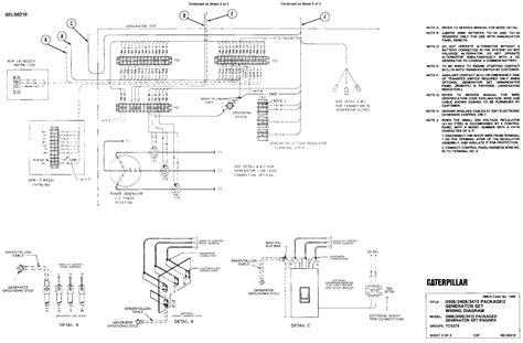 Packaged Generator Set Wiring Diagram