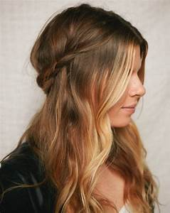 Various Styles of Winter Half up & Half down Hairstyle Ideas for Girls HairzStyle