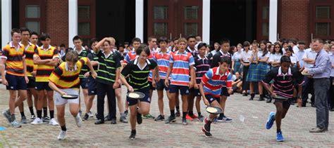 pancake race marlborough college malaysia