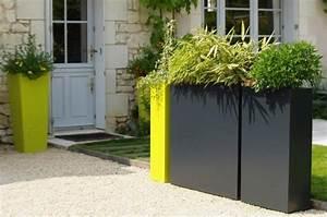 Jardinière Brise Vue : jardiniere brise vue balcon l 39 atelier des fleurs ~ Premium-room.com Idées de Décoration