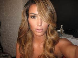 Kim Kardashian Blonde - Kim Kardashian Blonde Hair Photos ...
