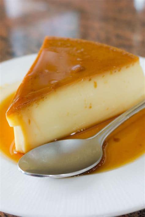 caramel flan creamy caramel flan recipe dishmaps