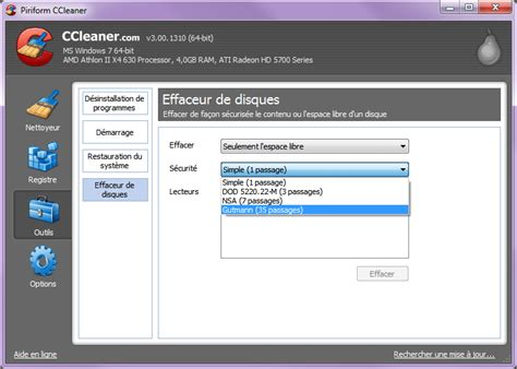 systeme cleaner telecharger