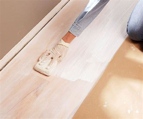 Whitewash Hardwood Floors   Better Homes & Gardens