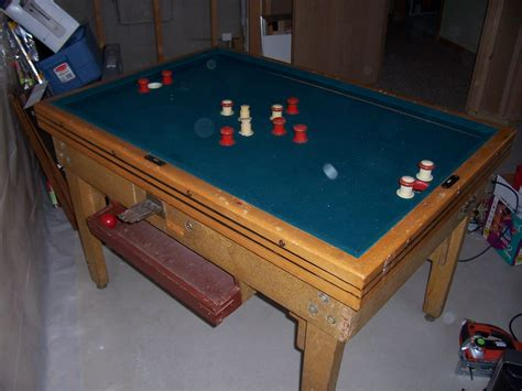 vintage bumper pool table coin operated bumper pool table what do i have