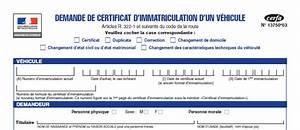 Demande D4immatriculation D Un Vehicule D Occasion : aide cerfa 13750 03 immatriculation v hicule occasion le blog eplaque ~ Gottalentnigeria.com Avis de Voitures