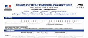 Immatriculation Voiture étrangère En France : aide cerfa 13750 03 immatriculation v hicule occasion le blog eplaque ~ Gottalentnigeria.com Avis de Voitures