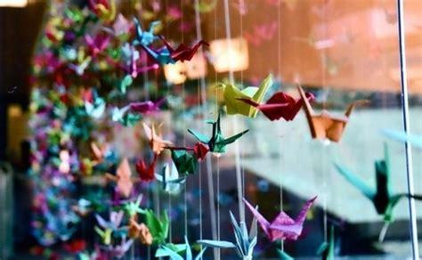 beautiful beauty colours cute origami paper cranes