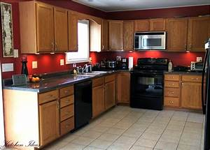 Kitchen : Kitchen Color Ideas With Oak Cabinets Food ...