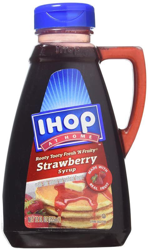 amazoncom ihop  home original syrup oz grocery gourmet food