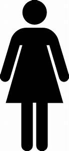 Female toilet sign clip art at clkercom vector clip art for Girls bathroom symbol