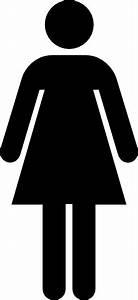 Female toilet sign clip art at clkercom vector clip art for Girls bathroom symbol