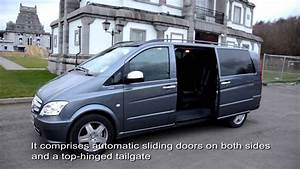 Mercedes Vito Combi 9 Places : luxury chauffeur 9 seater van mercedes benz vito youtube ~ Maxctalentgroup.com Avis de Voitures