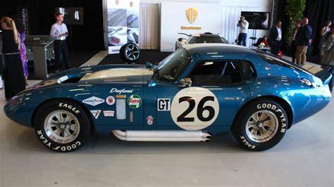 shelby cobra daytona coupe  anniversary top speed