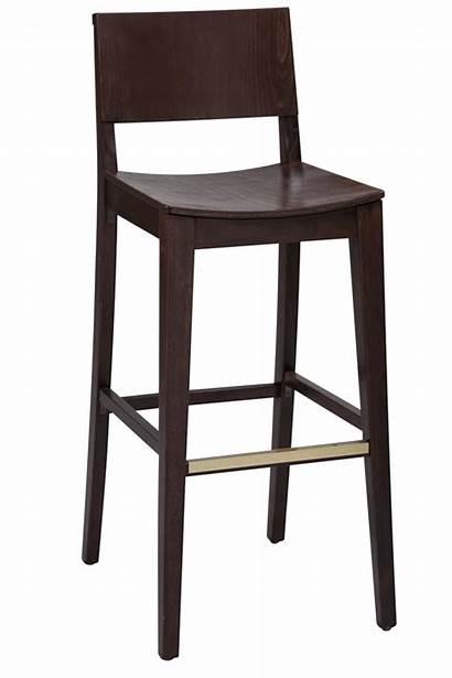 Bar Stool Counter Wooden Height Modern Seat
