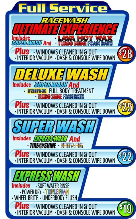 car wash service full service car washes racewash car wash ocala fl