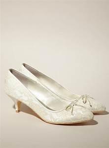 Bridal Shoes Kitten Heel Mad Heel