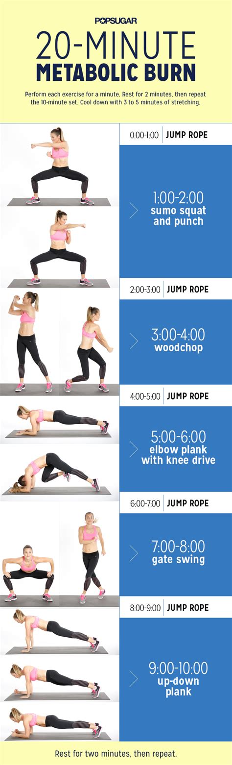 Skipping Workout With Strength Training  Popsugar Fitness Uk