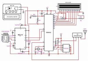 8051 - Gsm Based Automatic Meter Reading  Amr