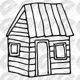 Cabin Outline Clipart Transparent Therapy Webstockreview Classroom sketch template