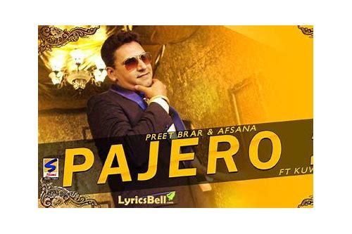 pajero 2 baixar punjabi song free