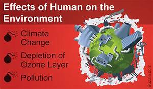 Earth-shattering, Ways, How, Humans, Affect, The, Environment