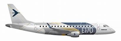 E170 Embraer Aircraft Regional Jet Right Jets