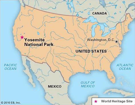 Yosemite National Park California United