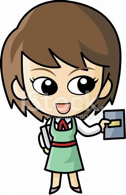 Librarian Cartoon Premium Freeimages
