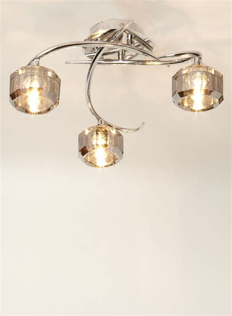 3 light flush light ceiling lights home