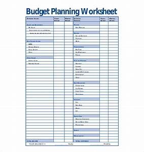 budget planner worksheet free 1000 ideas about weekly With budget preparation template