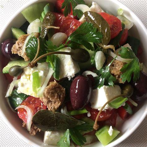 cuisine grecque recettes recette salade grecque choriatiki cuisine madame figaro